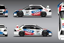 Drotár Autošport / design for legendary slovak rally driver Igor Drotár, who´s competing in rally events with Citroen DS3 WRC and Mitsubishi Lancer WRC in hill climb.