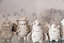 keramika - broučci