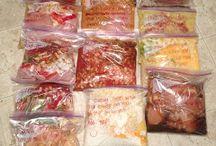 Meal planning & freezer meals