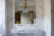 Bathrooms / by MICHAEL HAMPTON DESIGN