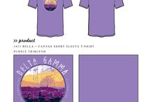 Retreat / Greek sorority and fraternity custom shirt designs featuring retreat themes. For more information on screen printing or to get a proof for your next shirt order, visit www.jcgapparel.com