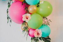 Bombas y flores