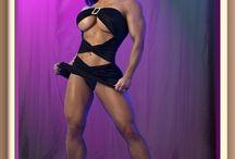Danielle Gardner aka Mz. Devious / Danielle Gardner is an American professional bodybuilder