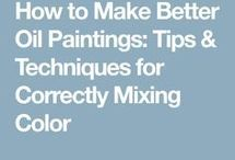 How to paint with oil