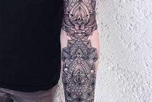 mandalas tatuagem