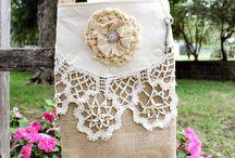 Fabric Handbags & Totes