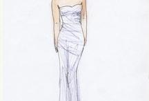 Ślubne suknie - wzory