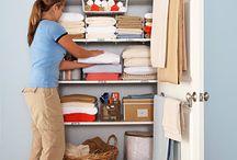linen closet / by Vicki Bragg