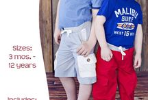 Sewing patterns for the boys / by Catharine Laird