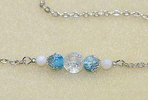 beaded necklaces - Motley Mix Jewelry / by Yelena Shabrova