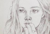 Sketches faces
