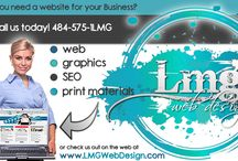 Graphic Design / Anything graphic! Flyers, business cards, brochures, and logo design.
