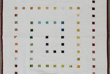 contemporary white quilt / by Nancy Wilkins