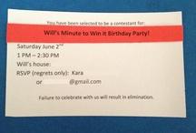 Koi's minute to win it birthday