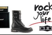Cult Italian Shoes / Iostore.it presenta la collezione di tendenza Rock delle scarpe Cult.