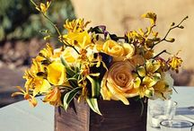 Yellow Florals / Weddings , Receptions