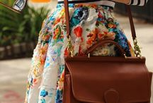 Floral:Skirt