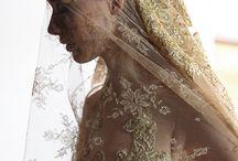 Wedding Head Pieces and Veils / Wedding head dress.