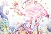 Flamingo / by Dolores Saar