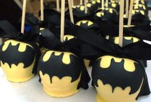 Batman Party Ideas / Get all the inspiration you need to create your own bat cave filled and Batman party delights.
