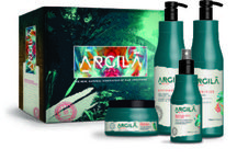 Argila Amazônia            #ArgilaBeauty / Discover the new generation in hair straightening: Argila Beauty is an easy-to-apply nature-based smoothing system developed with the most effective actives from Amazon as white clay and Murumuru oil. Free of formaldehydes, parabens, salt and others harmful chemicals.