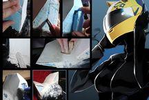 Anime DuRaRaRa helmet !!! / Celty Sturluson Motor Helmet Mask