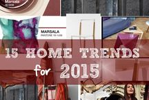 Home Trends for 2015