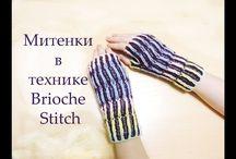 Croché e Tricot - Luvas / Mittens / Manguitos / Perneiras / Boot Cuffs