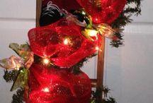 arreglos navideños pared