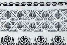 Blackwork Embroidery / Blackwork Embroidery