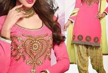 Patiala Salwar Kameez / Shop Patiala Salwar Kameez and suits Online at Indian Sanskriti.
