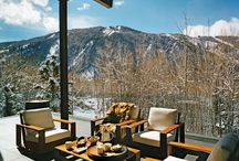 Mountain Vacation Home Decor & Architecture