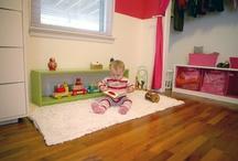 Quartos Montessori / inspirações de decoração de quarto infantil Montessoriano, que estimula a autonomia e o desenvolvimento infantil.