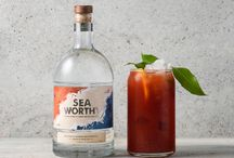 Seaworthy Vodka / We constantly find ourselves dreaming up product ideas that bridge the gap between design and product development and Seaworthy Vodka is one of those ideas that we're proud has made it off the pages in our scrapbook and into production!