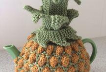 Pineapple tea cozy