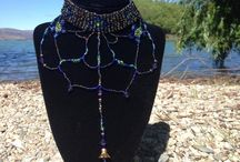 Jewellery / My handmade woven beaded jewellery http://trina-ann-designs.myshopify.com/