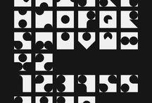 modular typography moodboard
