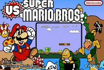 Super Mario Bros...the original arcade version from 1984 / Mario & Luigi must rescue the Mushroom Kingdom and its creatures from the evil Bowser. Along the way, gather coins for points, break bricks to reveal items that grant special powers, and avoid harmful creatures and obstacles. Of course, as levels advance, the obstacles get trickier!