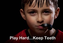 Mouthguards/Facial Protection / Mouth guards are a smart investment in your dental health.  Protect that smile and wear a mouth guard when engaging in any contact sport.