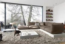 Basic woonstijl Inspiratie / Ingetogen,strak, rustig, rechte vormen, hout, linnen, matte kleuren