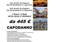 Partenze Capodanno 2014 da Cagliari e Sardegna