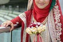 Brides in Hijab / Hijab Style/Abaaya