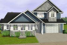Sims domy