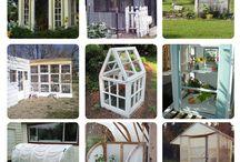 Glass/shade houses