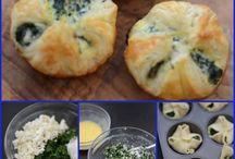 pasta sfoglia con ricotta e spinaci