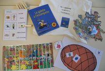 Ecole : sacs à albums Geoffroy de Pennart