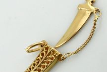 My Dagger and other pretty GOLD bits