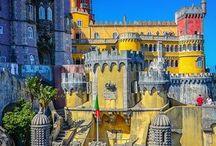 Palácio da Pena - Sintra - Portugal...