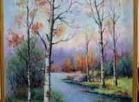 Posliininmaalaus: maisemat