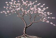 flores metal laca uñas
